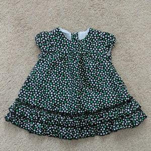 First Impressions polka dot dress